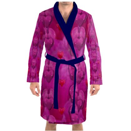 All is bleeding hearts Dressing Gown