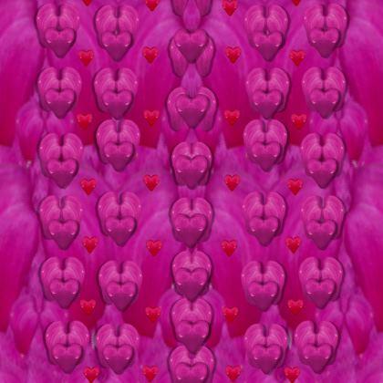 All is bleeding hearts Kimono Jacket