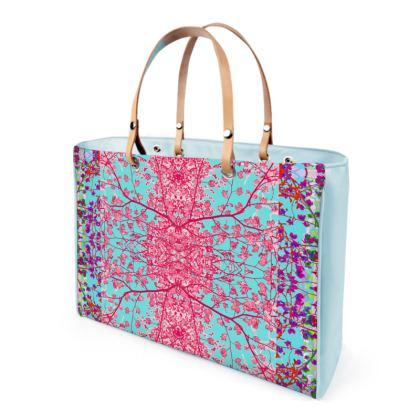 VIDA Tote Bag - Sureal Pink (Mirror) by VIDA hwu37KyYAe