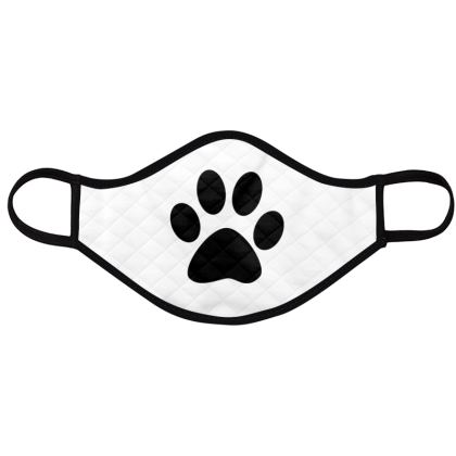 dog paws face masks