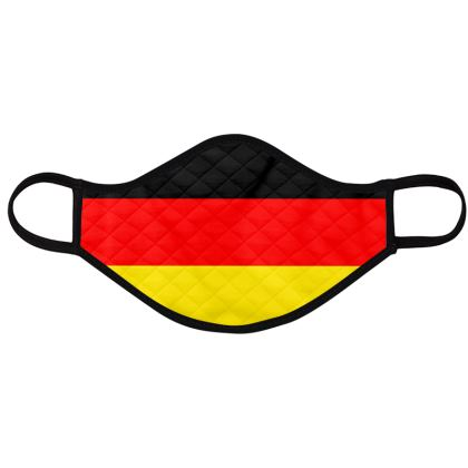 German flag face masks