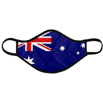 Australian flag face masks