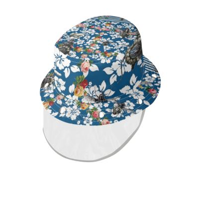 Rotary Bugs on the Canal Bucket Hat with Visor