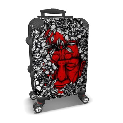 Red Face Suitcase