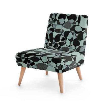 Abstract Elegance Occasional Chair