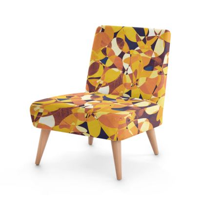 Abstract Seventies Occasional Chair