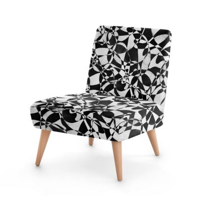 Abstract & Artsy Occasional Chair
