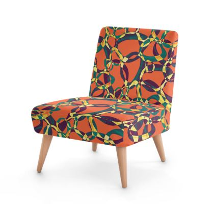 Psychedelic Grooviness Occasional Chair