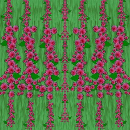 lianas of sakura branches Kimono