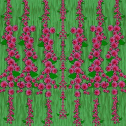 lianas of sakura branches Dressing Gown
