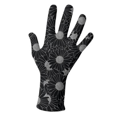 Daisy Black and Blue Gloves 2 Pack