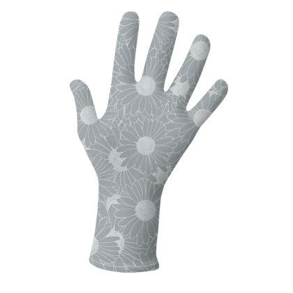 Daisy Grey and Black Gloves