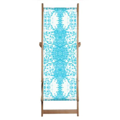 Blue Branch Deckchair
