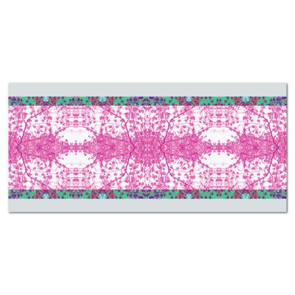 Lilac Branch Oilcloth Tablecloth