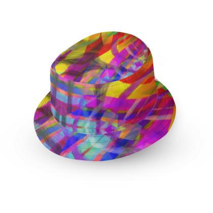 HARLEQUIN BUCKET HAT