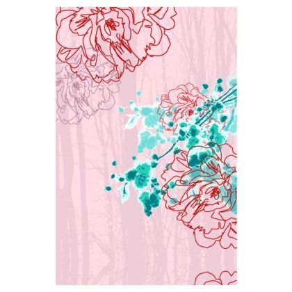 Slip Dress - Pink Florals