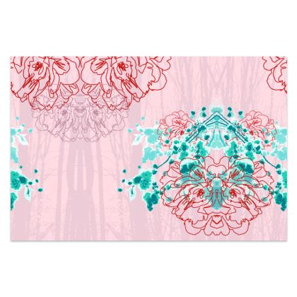 Sarong / Pareo in Pink Florals