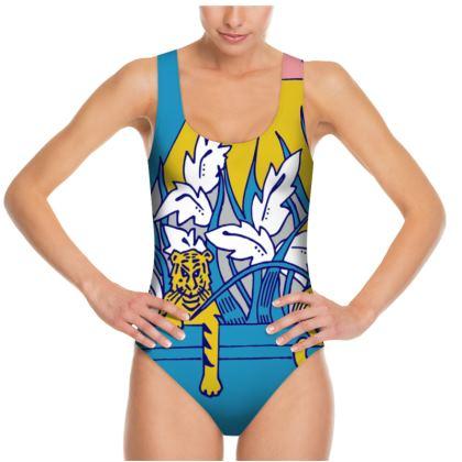 Tiger Print Swimsuit