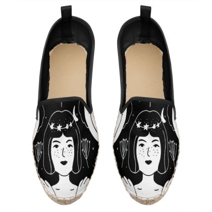 the magic girl loafer espadrilles