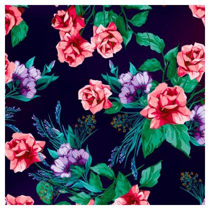 floral loafer espadrilles