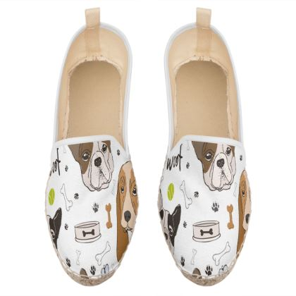 cute dogas loafer espadrilles