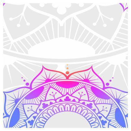purple pink mandala loafer espadrilles