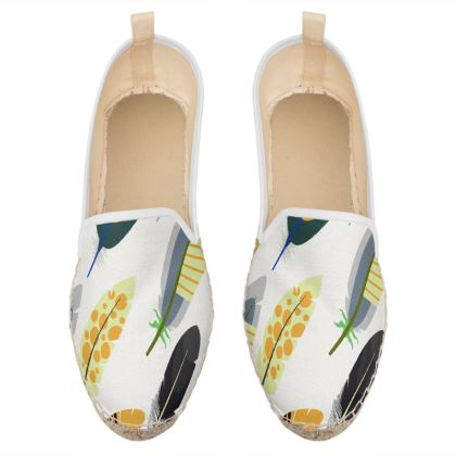 feathers loafer espadrilles