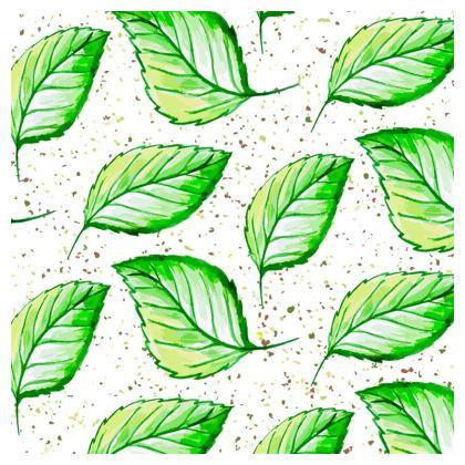 green leaves loafer espadrilles