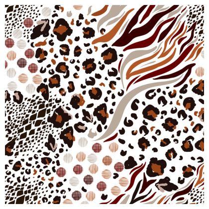 brown animal print loafer espadrilles
