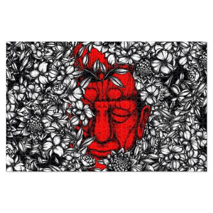 Red Face Jigsaw Puzzle