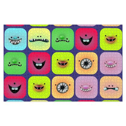 Cute Creatures Jigsaw Puzzle