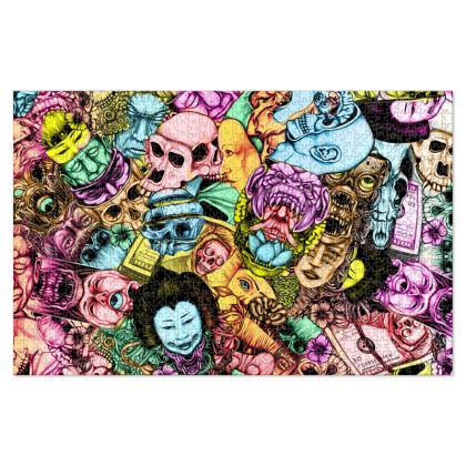 Men and Mutants color Jigsaw Puzzle