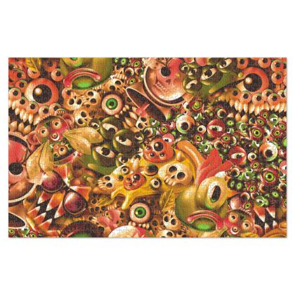 Monster World Jigsaw Puzzle