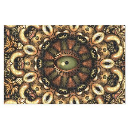 Mandala eye Jigsaw Puzzle