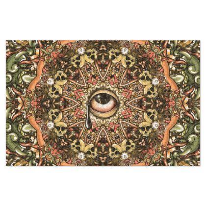 Eye 2 Mandala Jigsaw Puzzle
