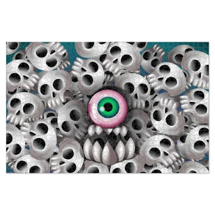 Skull Monster Jigsaw Puzzle