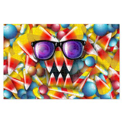 Candy Monster Jigsaw Puzzle