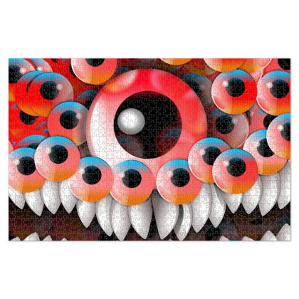 Eyes Monster Jigsaw Puzzle