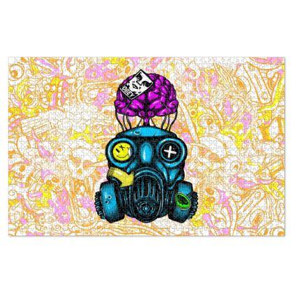 Mask Doodles Jigsaw Puzzle