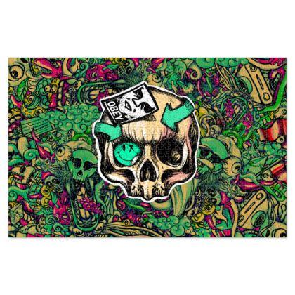 Skull Doodles Jigsaw Puzzle