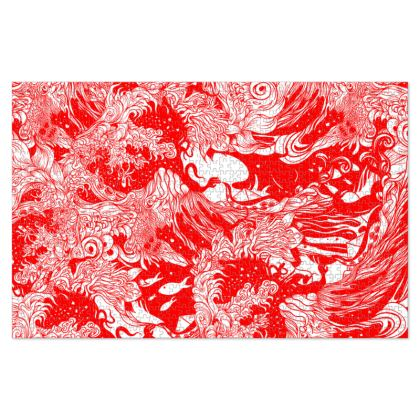 Red Wave 2 Jigsaw Puzzle