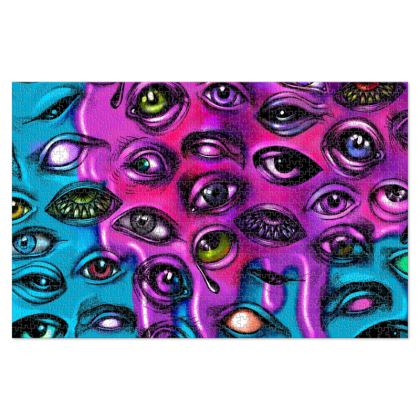 Melting Eyes Jigsaw Puzzle