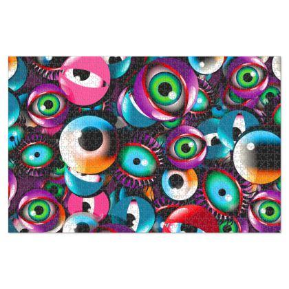 Eye Balls Jigsaw Puzzle