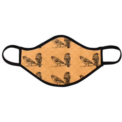 FACE MASK PACK - BIRDS Reusable Face Mask