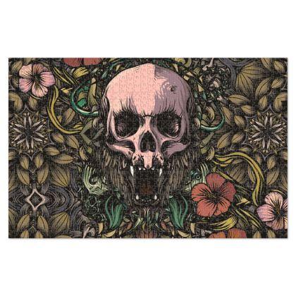 Jungle Skull Jigsaw Puzzle