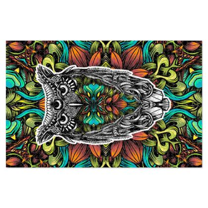 Floral Owl Jigsaw Puzzle