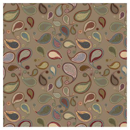 Paisley Heritage Collection (Nutmeg) - Luxury Cushion