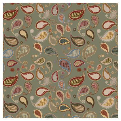 Paisley Heritage Collection (Sea Foam) - Luxury Cushion