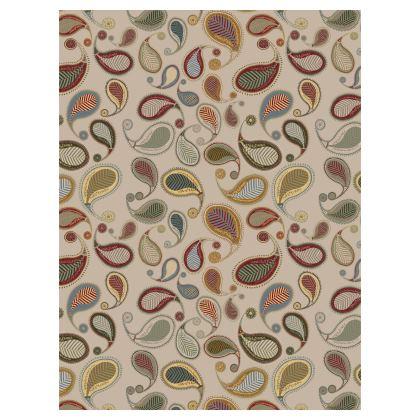 Paisley Heritage (Parchment) - Luxury Umbrella