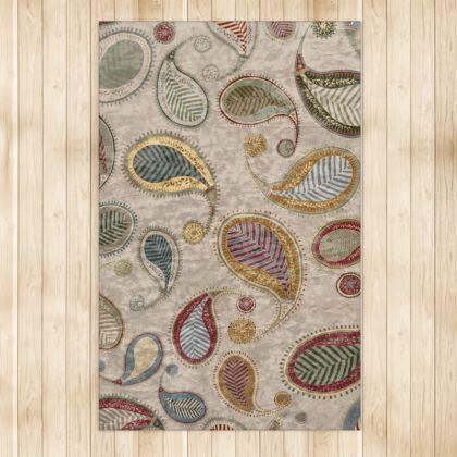 Paisley Heritage (Parchment) - Luxury Rug (Large)